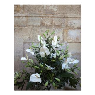 The flowers letterhead