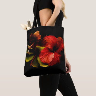 the flowers ploughs in to air tote bag