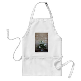 The flowers standard apron