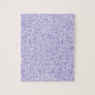 The flowing vines of Lilac Jigsaw Puzzle