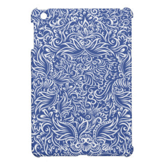 The flowing vines of  night blue cover for the iPad mini