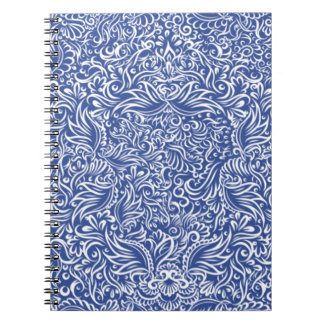 The flowing vines of  night blue notebook