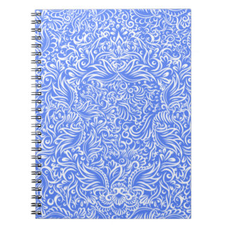 The flowing vines of sky blue notebooks