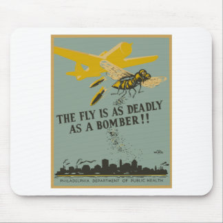 The Fly Is As Deadly As A Bomber Mouse Pad