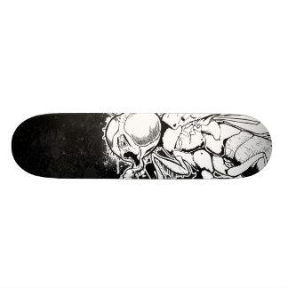 The Fly (Self-Portrait) Skateboard