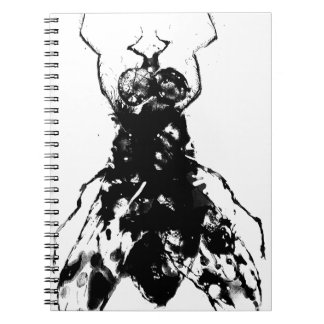 The fly spiral note book