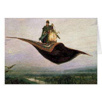 The Flying Carpet by Viktor Vasnetsov (1880) Card