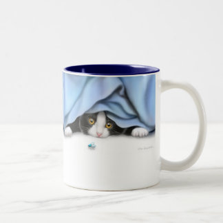 The Flying Cat Toy Mug