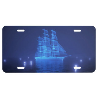 The Flying Dutchman License Plate