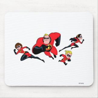 The Flying Incredibles Disney Mouse Pad