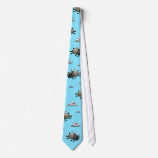 The Flying Pugs Tie