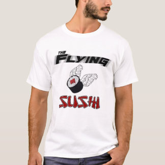 The Flying Sushi Ringer T-Shirt