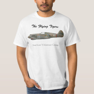 The Flying Tigers P-40 T-shirts