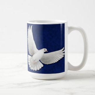 The Flying White Dove Mug