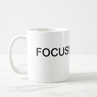 The Focus Coffee Mug