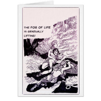 The Fog Of Life - Greeting Card