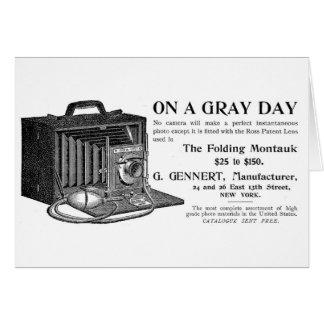 The Folding Montauk Camera Greeting Card