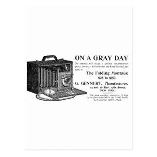 The Folding Montauk Camera Postcard