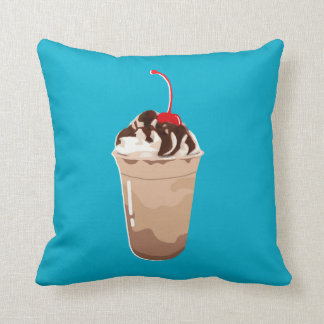 THE FOOD - FRAPPE/COFFEE THROW PILLOW