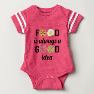 The Food Lover Baby Bodysuit