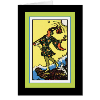 The Fool Greeting Card