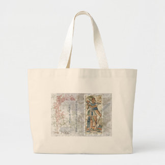 The Fool Possibilities Tarot Card Fortune Teller Large Tote Bag