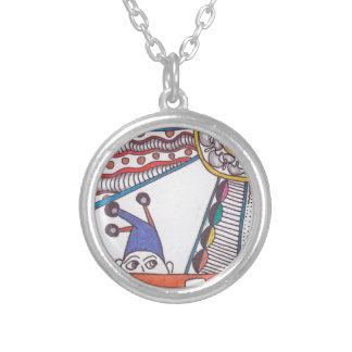 The Fool Round Pendant Necklace