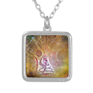 The Fool Silver Plated Necklace