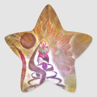 The Fool Star Sticker