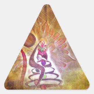 The Fool Triangle Sticker