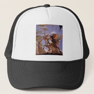 The Force of Eloquence, Bellerophon and Pegasus Trucker Hat