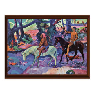 The Ford By Gauguin Paul (Best Quality) Postcard