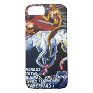 The foreign Fascists hordes_Propaganda Poster iPhone 7 Case