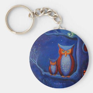 The forest at night - Keyring