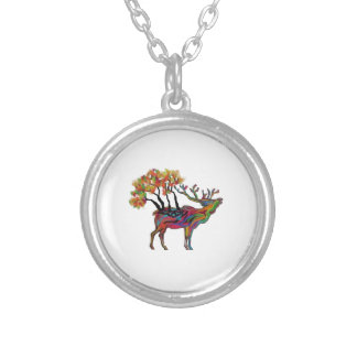 THE FOREST BRINGS SILVER PLATED NECKLACE