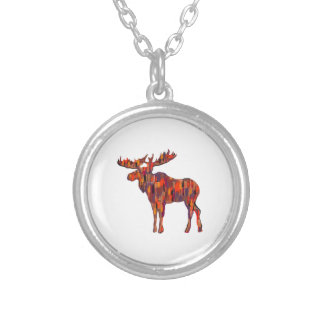 THE FOREST CALLS SILVER PLATED NECKLACE