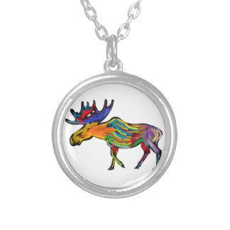 THE FOREST DWELLER SILVER PLATED NECKLACE
