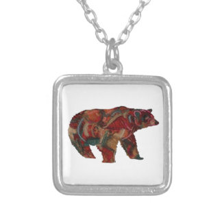 THE FOREST KEEPER SILVER PLATED NECKLACE