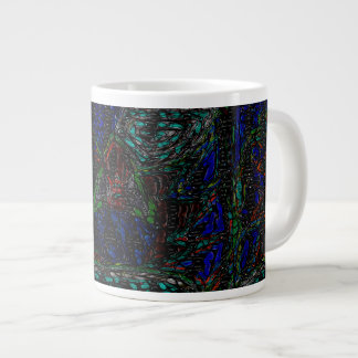 The Forest Large Coffee Mug