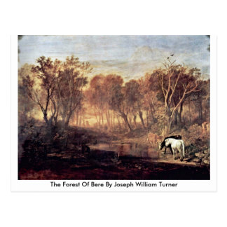The Forest Of Bere By Joseph William Turner Postcard