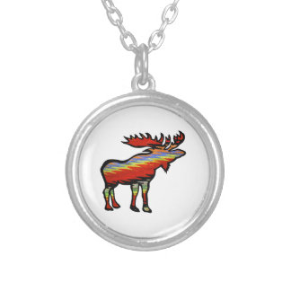 THE FOREST PROVIDES SILVER PLATED NECKLACE