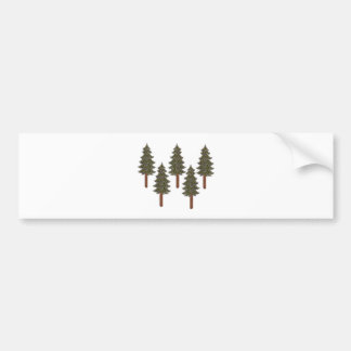 THE FOREST TRANQUILITY BUMPER STICKER