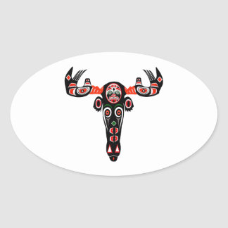THE FOREST WANDERING OVAL STICKER