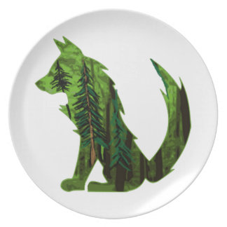 THE FOREST WITHIN DINNER PLATES