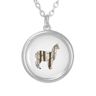 THE FOREST WITHIN SILVER PLATED NECKLACE