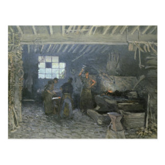 The Forge at Marly-le-Roi, Yvelines, 1875 Postcard