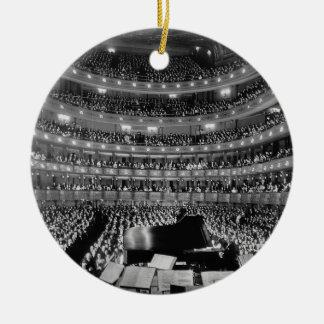 The Former Metropolitan Opera House 39th St 1937 Ceramic Ornament