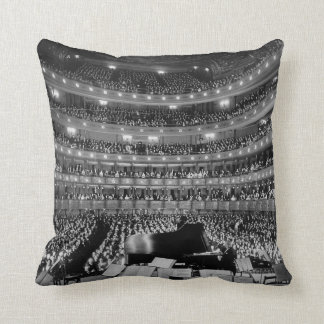 The Former Metropolitan Opera House 39th St 1937 Throw Pillow