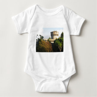 The Fortezza Medicea of Volterra, Tuscany, Italy Baby Bodysuit