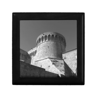 The Fortezza Medicea of Volterra . Tuscany, Italy Gift Box